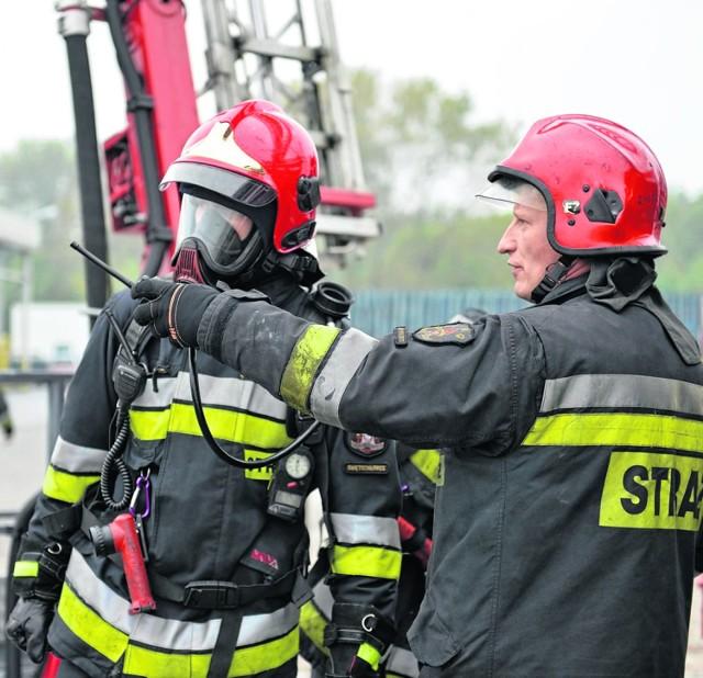 1 października na terenie miasta zorganizowano manewry strażackie