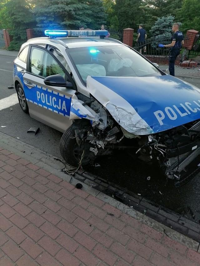 Policyjny pościg w Sieradzu