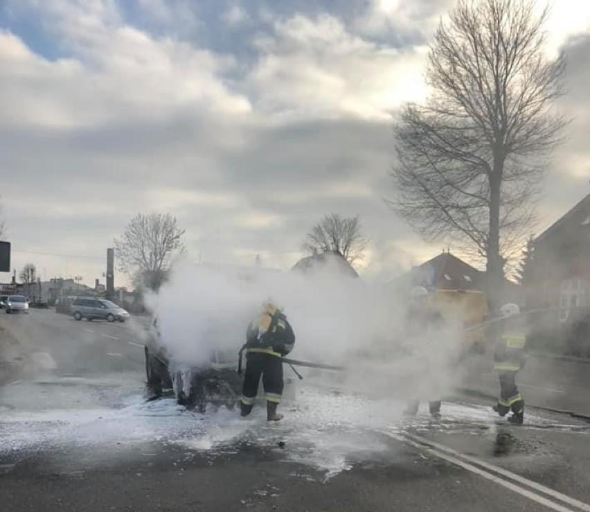 Region. Popołudniowe pożary samochodów [FOTO]