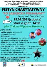 To już w sobotę:  festyn charytatywny dla pogorzelców z Wiśniówki