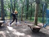 Zawody w parku linowym w Inowrocławiu. Poznajcie wyniki, zobaczcie zdjęcia