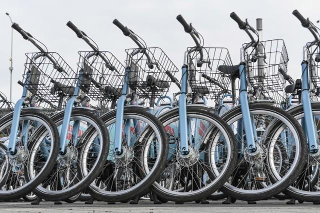 System roweru metropolitalnego Mevo wystartował 26.03.2019 r.