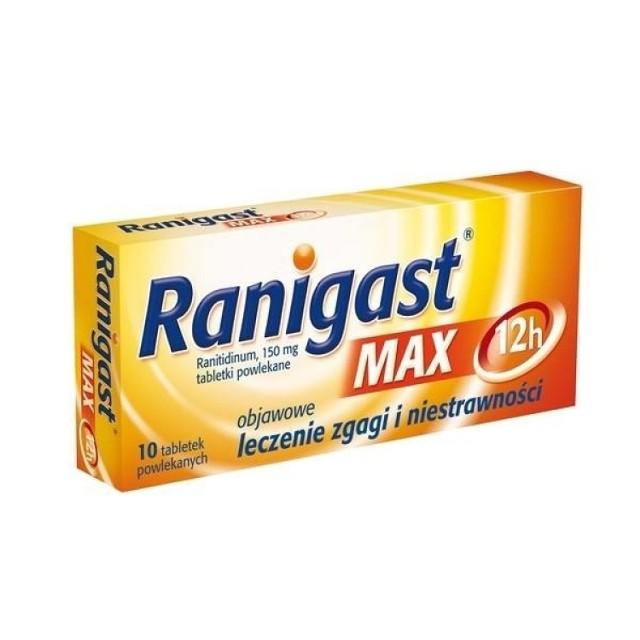 Ranigast Max 150 mg 10 tabletek Decyzja 75 WC 2019