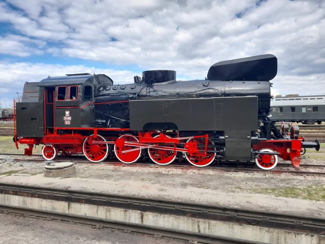 24 kwietnia zakończyło sie malowanie parowozu TKt48-143