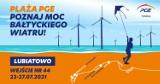 """""""Plaża PGE - Poznaj Moc Bałtyckiego Wiatru""""- PGE zaprasza do strefy edukacyjnej promującej odnawialne źródła energii na plaży w Lubiatowie"""