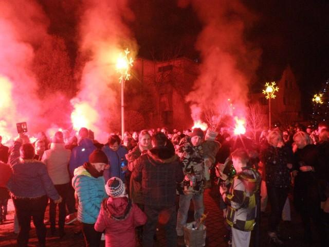 Powitanie Nowego Roku 2018 w Chełmie Śląskim
