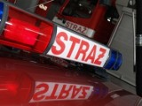 Pożar w Katowicach. Płonął warsztat samochodowy przy ulicy Szymanowskiego. Z ogniem walczyło 9 jednostek straży pożarnej