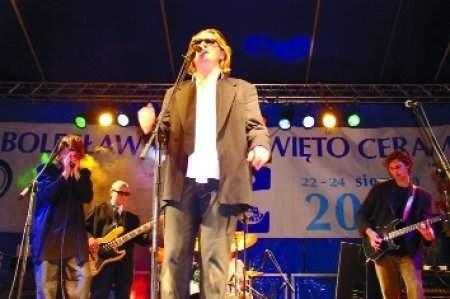 Na koncertach pokazują co potrafią. Od lewej: Jacek Lubiński, Andrzej Malcher, Janusz Wykpisz i Sławek Sobieski. Fot. GRZEGORZ MATORYN