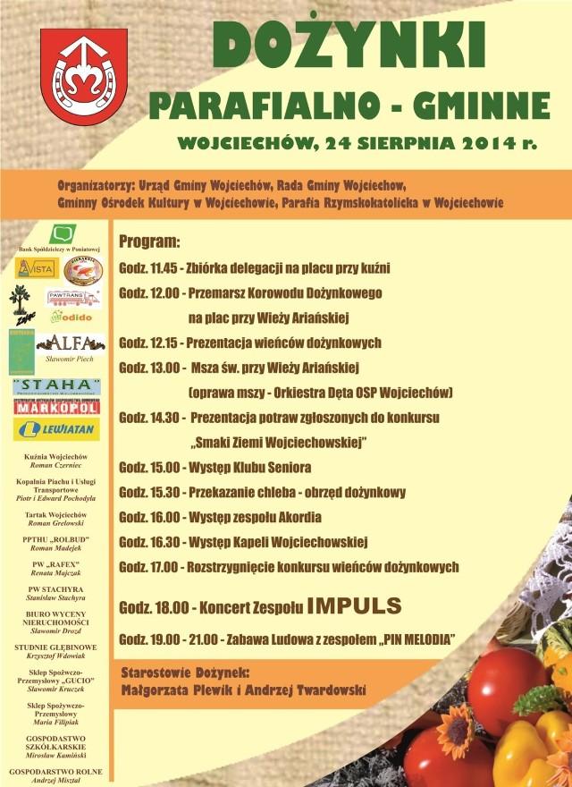Dożynki w Wojciechowie