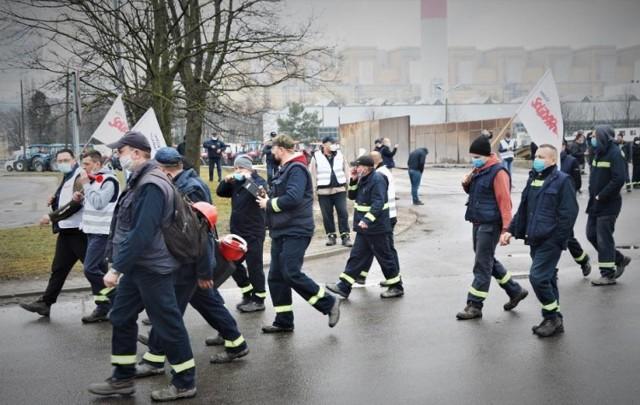Trwa strajk w spółce Betrans Bełchatów