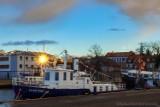 Foto powiat pucki: mieszkańcy miasta Puck często mogą podziwiać takie widoki. Wystarczy wybrać się na spacer do portu rybackiego | ZDJĘCIA