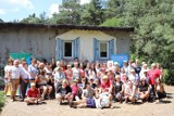 Warsztaty integracyjne odbyły się w ramach pleneru malarskiego w Blizanowie ZDJĘCIA