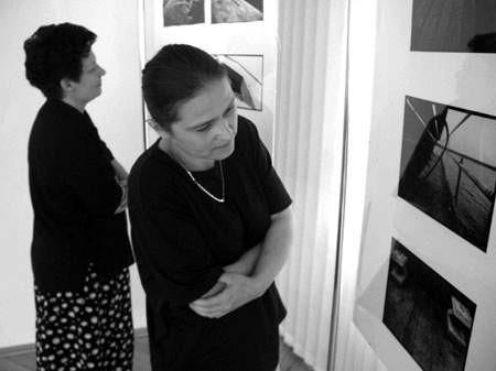 """Fragment wystawy """"Wariacje na temat"""". Fot. L. Usińska"""