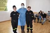 Gmina Grodzisk: Akcja szczepień przeciwko Covid-19 z OSP Grąblewo