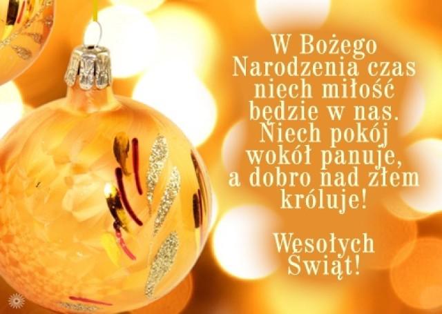 życzenia świąteczne Do Wysłania Wierszyki Na Boże
