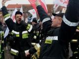 Strażacy i strażnicy pikietowali w Gdańsku [zdjęcia, wideo]