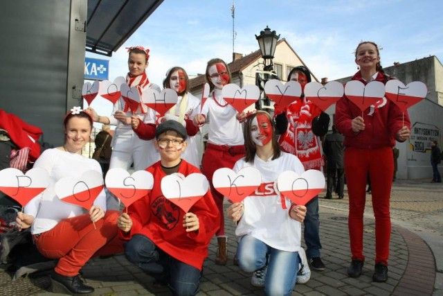 Każdego roku 11 listopada Oświęcim był biało-czerwony.