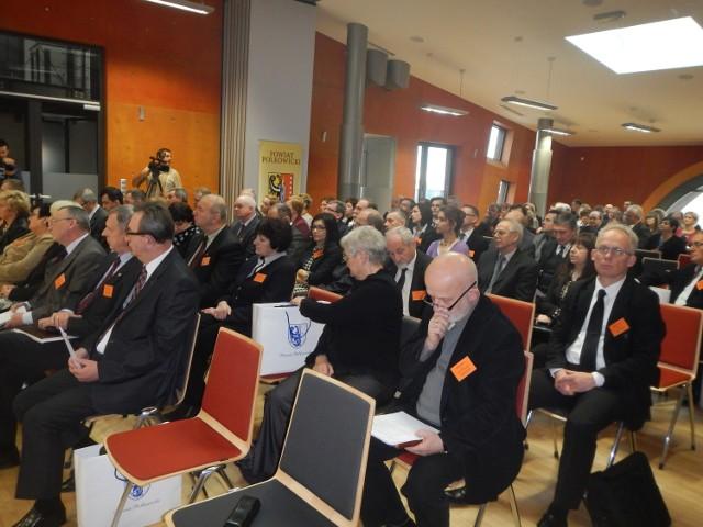 """Konferencja """"15 lat geodezji samorządowej"""" odbywa się w Polkowicach. Dziś drugi dzień spotkania."""