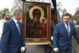 Kopia obrazu Matki Bożej przywitana w Jaszkowie i w Brodnicy