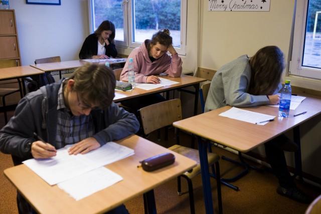 Próbny egzamin gimnazjalny 2018 Operon