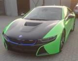 Gniezno: kradzież auta. Widziałeś BMW i8 koloru czarno-zielonego?