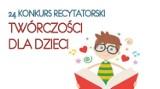 Rypiński Dom Kultury ogłosił 24. Konkurs Recytatorski Twórczości dla Dzieci