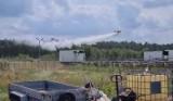 Pożar w Goleniowskim Parku Przemysłowym? Ogień gaszono z samolotu VIDEO