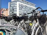 Rowery miejskie w Katowicach już stoją, ale nie można ich wypożyczyć