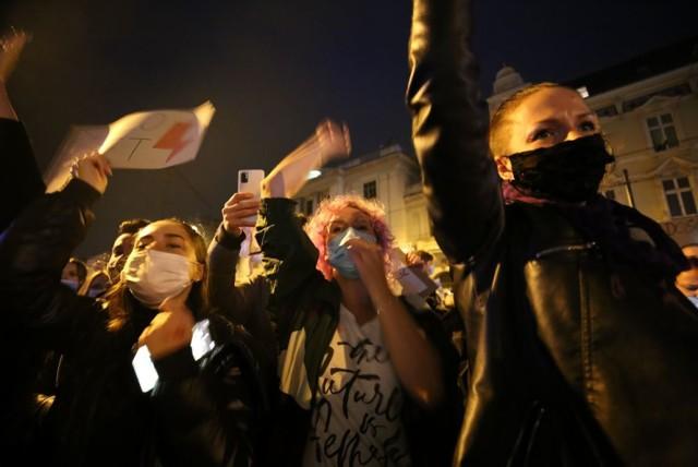 Protest Kobiet w Katowicach.