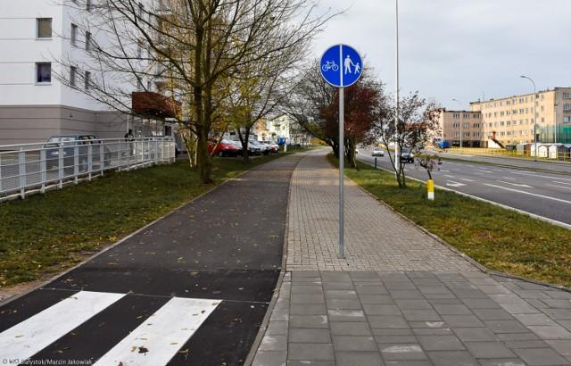 Ścieżka przy Berlinga w Białymstoku