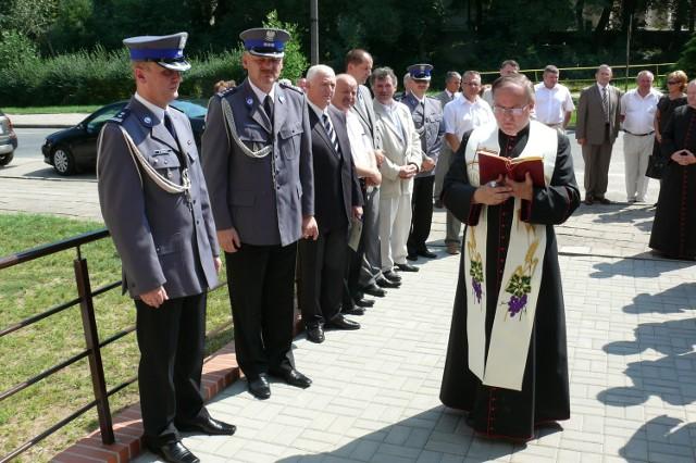 Obiekt poświęcił ks. Kanonik Ireneusz Szypura