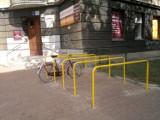 Katowice i rower? Na początek nietypowe stojaki rowerowe