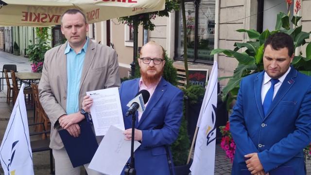 Konferencja Klubu Konfederacji w Piotrkowie w sprawie ustawy 1449, 14.09.2021