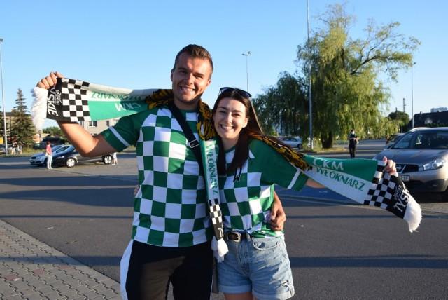 Kibice przed meczem Eltrox Włókniarz Częstochowa - RM Solar Falubaz Zielona Góra