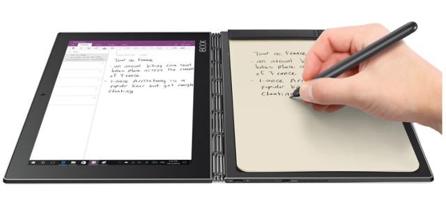 Lenovo YOGA Book - recenzja urządzenia stworzonego dla studentów