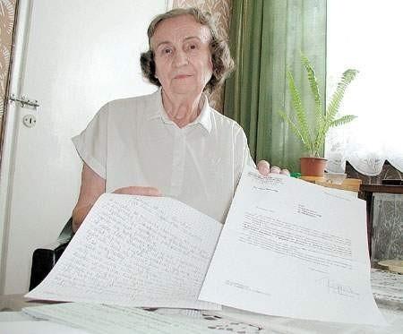 Pismo z Krajowej Rady Radiofonii i Telewizji wyjaśniło mi tylko tyle, że tam pracują ludzie bez honoru – mówi Bogumiła Gołąb. fot. marcin twaróg