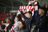 Fani Comarch Cracovii kibicowali zespołowi w meczu z GKS-em Tychy [ZDJĘCIA]