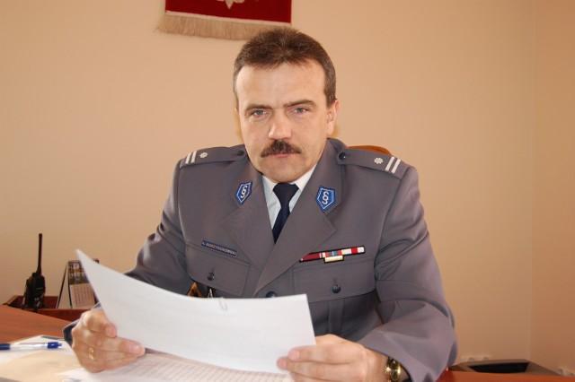 Komendant Andrzej Borzyszkowski liczy, że gminy przekażą pieniądze policji