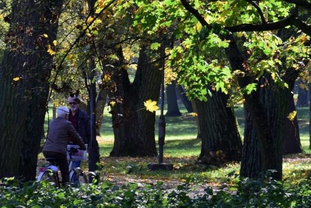 Polska złota jesień w inowrocławskich Solankach