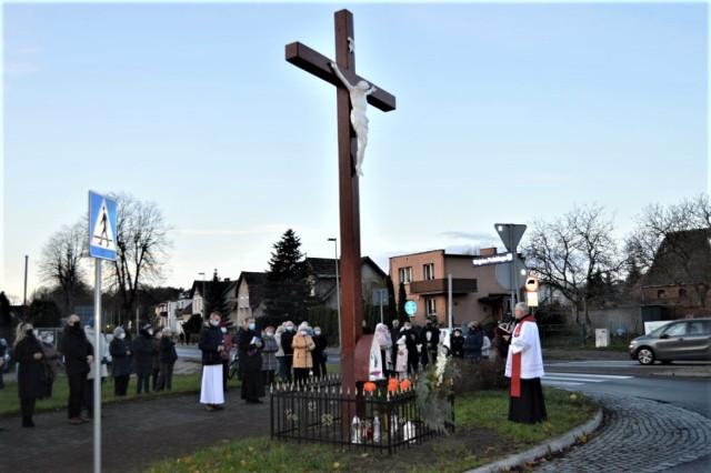 Krzyż powrócił na swoje miejsce