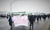 Drugi dzień strajku w spółce Betrans Bełchatów, 30.03.2021. Czy będzie przełom?