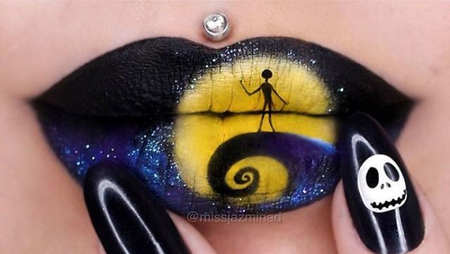Każda makijażystka przy niej wysiada! Zobacz niesamowite obrazy na ustach [GALERIA]
