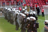 Zamieszki po meczu Widzewa. Policja zatrzymała już 6 osób, Będą kolejne zatrzymania - ZDJĘCIA