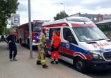 Mały karambol przy estakadzie Gądowianka. Zderzyły się trzy auta, jedna osoba ranna