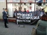 Młodzież Wszechpolska: Ten film przedstawia Białystok, jako jakieś miasto terroru. Michał Mikucki filmu nie widział (zdjęcia)