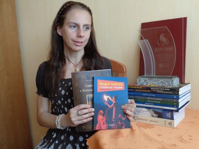 Anna Koprowska-Głowacka wolny czas poświęca pisaniu. To, co wyszło spod jej pióra, nie raz już zostało nagrodzone.