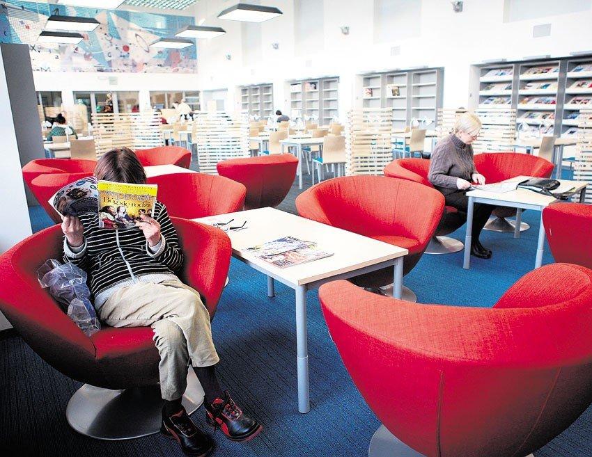 4ce53544e2 Odnowione czytelnie Biblioteki im. Piłsudskiego - NaszeMiasto.pl