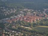 Takie widoki mieliśmy z Zeppelina w Katowicach. Miasto w budowie, nowe osiedla i dźwigi - zobaczcie ZDJĘCIA