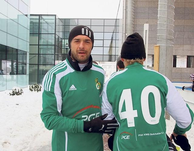 W kompleksie Solpark w Kleszczowie trenują m.in. piłkarze bełchatowskiego GKS