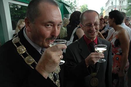 Burmistrzowie obu Cieszynów zorganizowali po raz kolejny Święto Trzech Braci w ramach współpracy transgranicznej. Wojciech Trzcionka